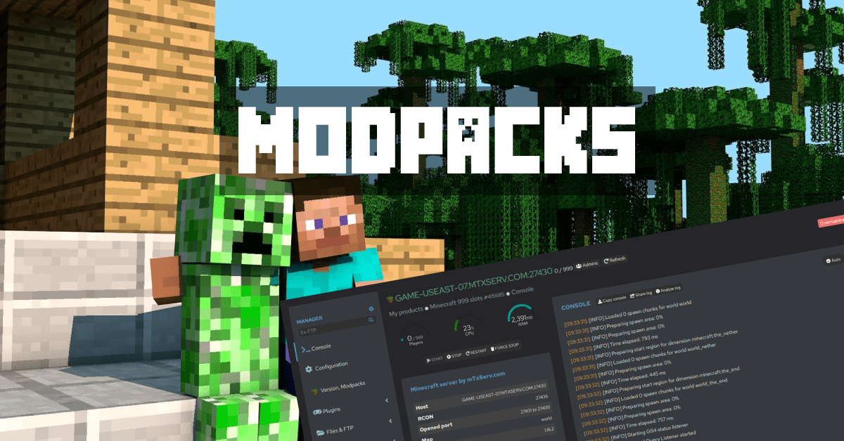 Minecraft Modpacks
