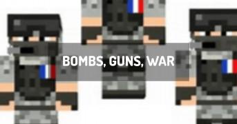BOMBS, GUNS, WAR | minecraft modpack