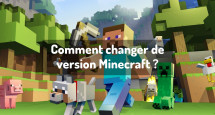 Comment changer de version Minecraft ?