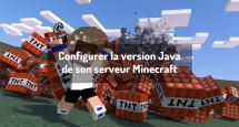 Configurer la version Java de son serveur Minecraft