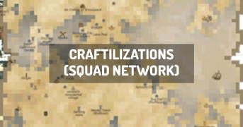 Craftilizations (Squad Network) | modpack minecraft