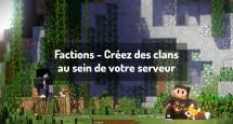 Factions - Créez des clans au sein de votre serveur