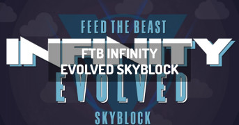 FTB Infinity Evolved Skyblock | modpack minecraft