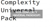 High-Complexity Universal Pack(HCUP)
