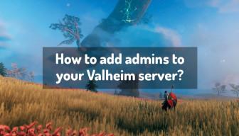 How to add admins to your Valheim server?