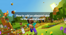 How to add an administrator to the control panel?
