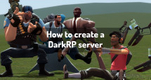 How to create a DarkRP server