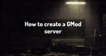How to create a GMod server