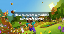How to create a modded minecraft server
