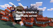 How to create a StarMade server