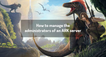 How to manage the administrators of an ARK server