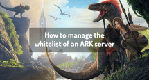 How to manage the whitelist of an ARK server