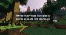 Infobook: Afficher les règles et autres infos à la 1ère connexion