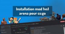 Installation mod 1vs1 arena pour cs:go