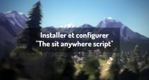 """Installer et configurer """"The sit anywhere script"""""""