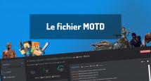 Le fichier MOTD