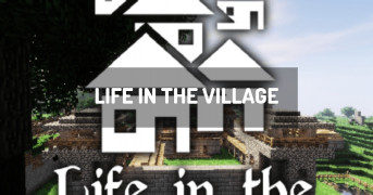 Life in the village | modpack minecraft