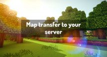Map transfer to your server