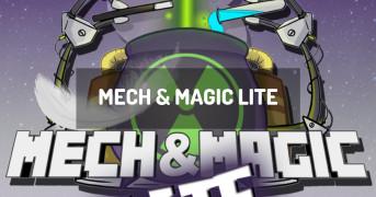 Mech & Magic LITE | modpack minecraft