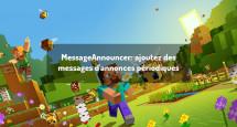 MessageAnnouncer: ajoutez des messages d'annonces périodiques