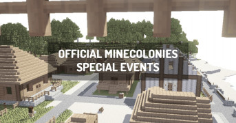 Official MineColonies Special Events | minecraft modpack