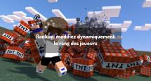 Rankup: modifiez dynamiquement le rang des joueurs
