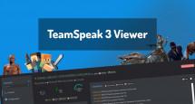 TeamSpeak 3 Viewer