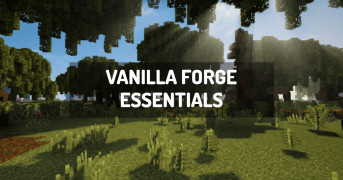 Vanilla Forge Essentials | modpack minecraft