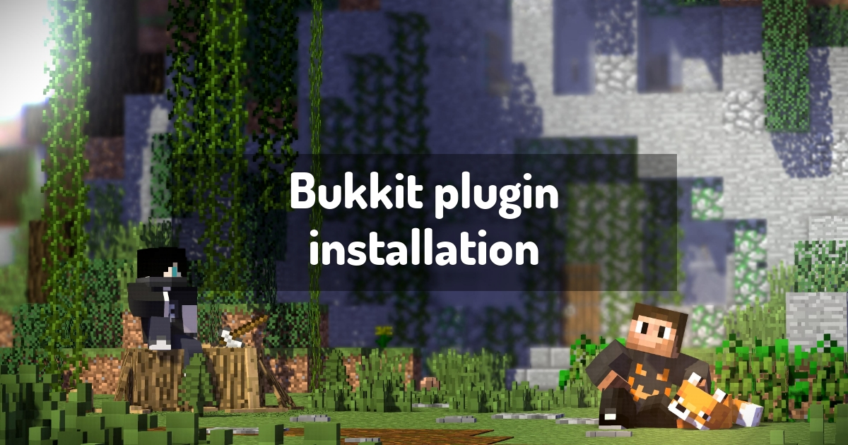Bukkit plugin installation