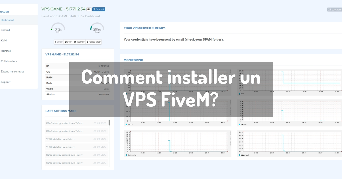 Comment installer un VPS FiveM?