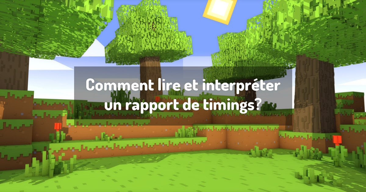 Comment lire et interpréter un rapport de timings?