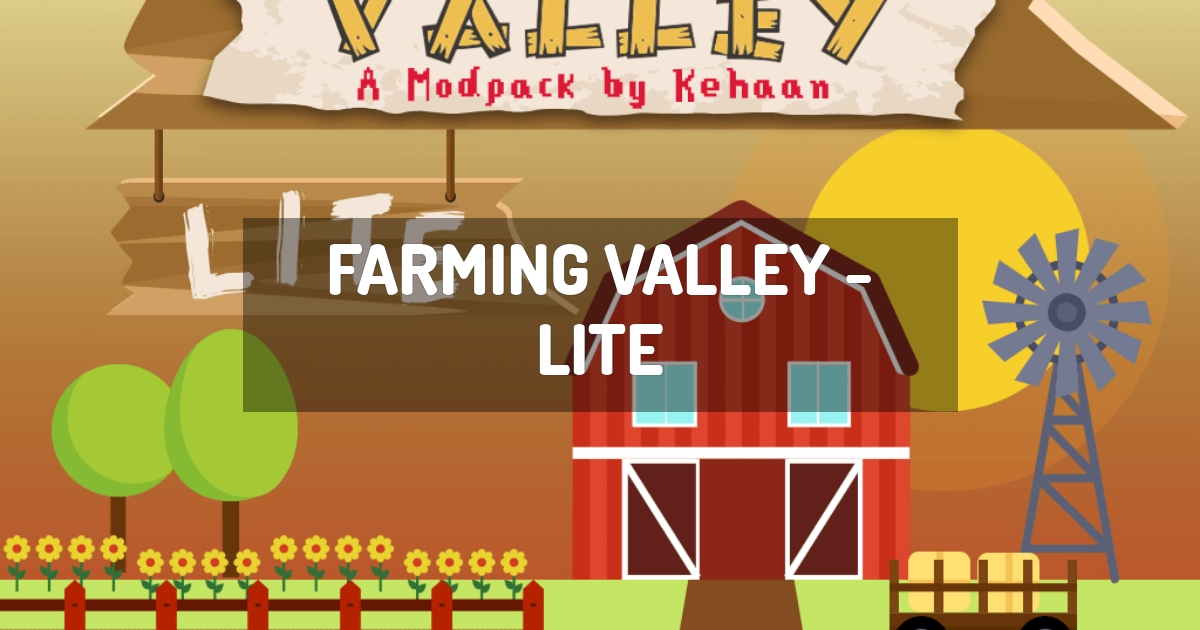 Farming Valley - Lite