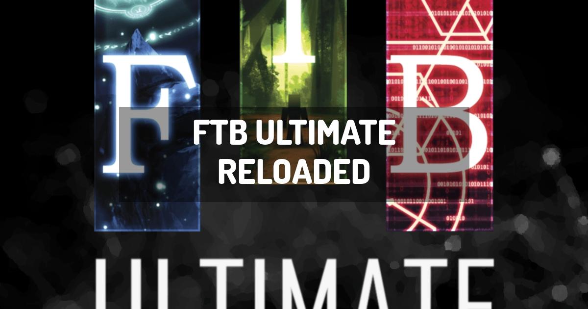 FTB Ultimate Reloaded