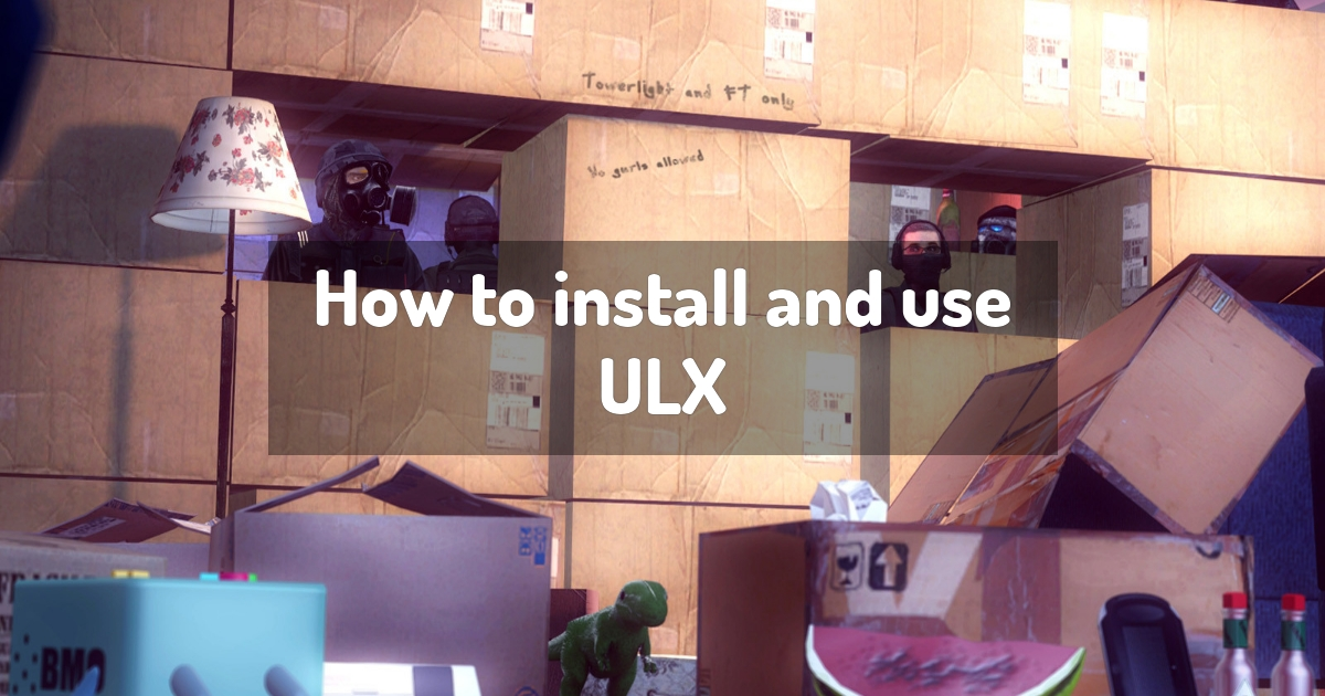 How to install and use ULX