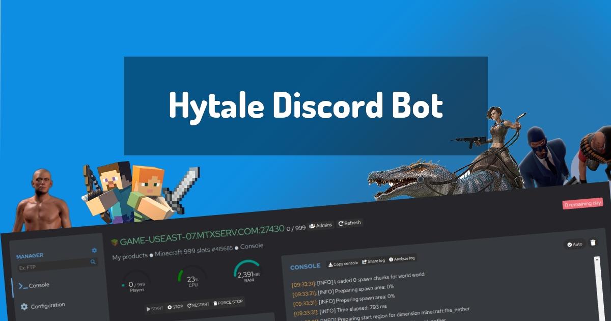 Hytale Discord Bot