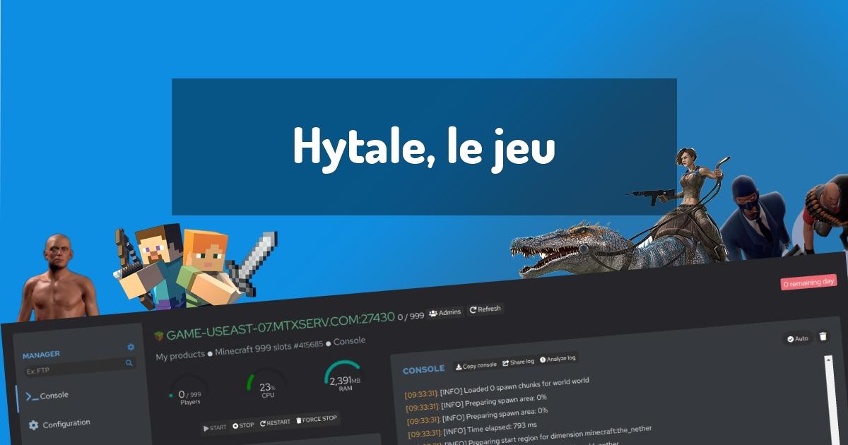 Hytale, le jeu