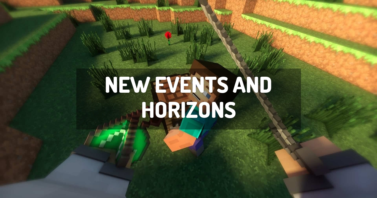 New Events And Horizons