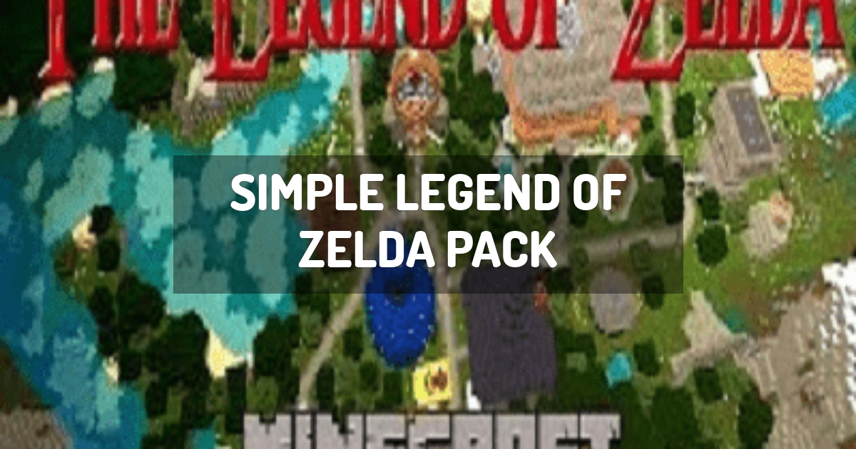 Simple Legend of Zelda Pack