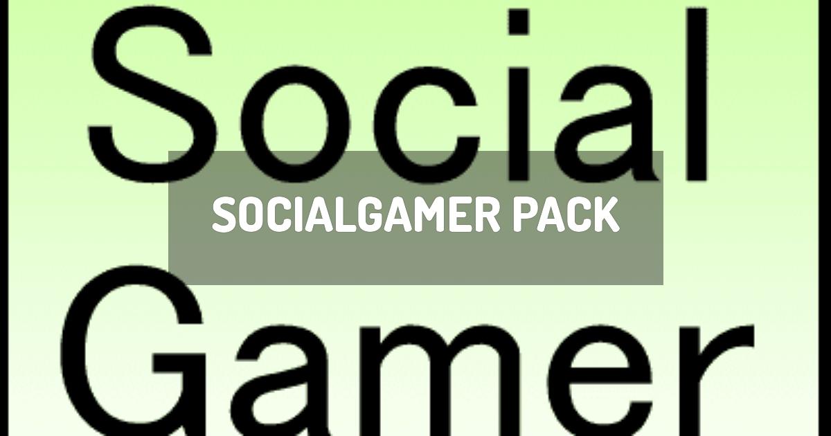SocialGamer Pack
