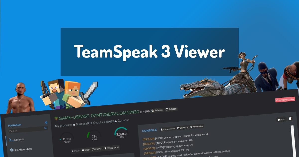 TeamSpeak 3 Viewer