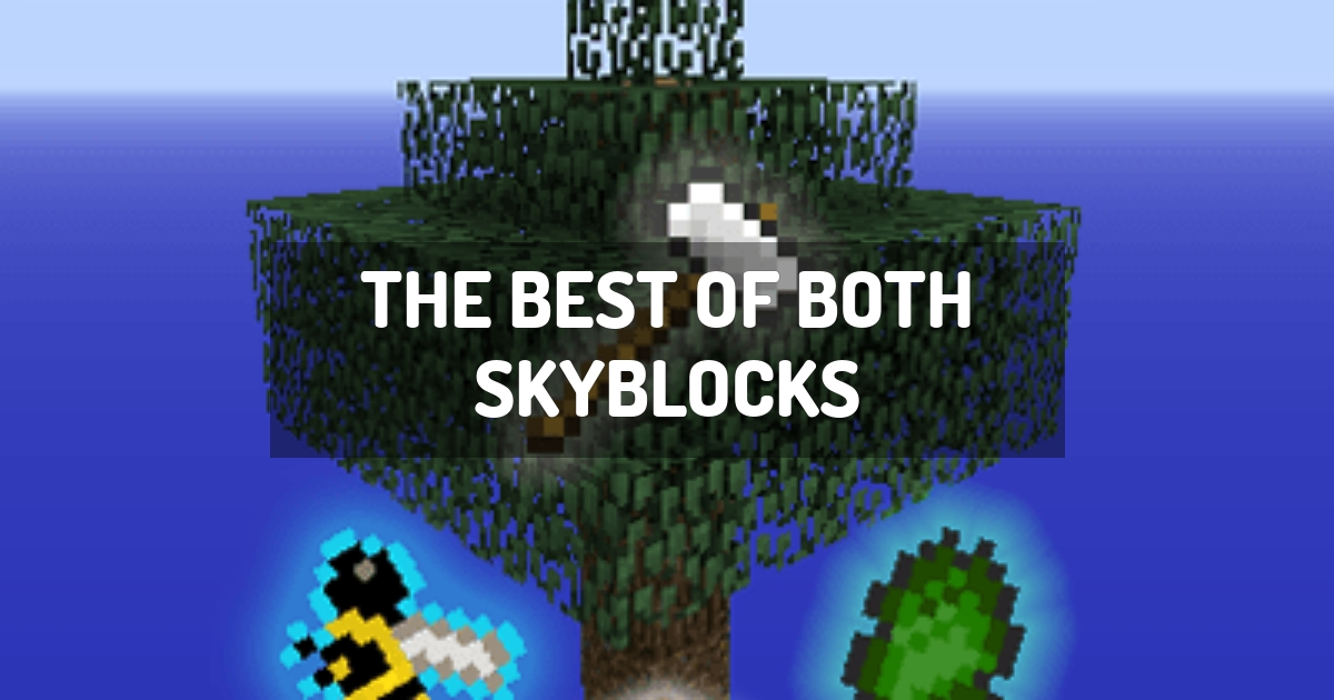 The Best of Both Skyblocks